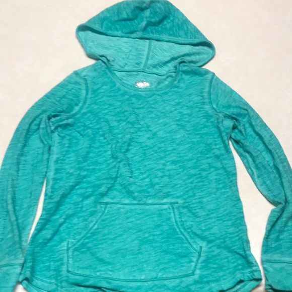 Justice Other - Girls teal Justice pull over long sleeve shirt